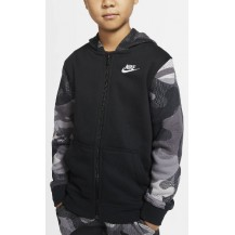 NIKE CHAQUETA JR B NSW FZ CLUB AOP2 - BV4496-010