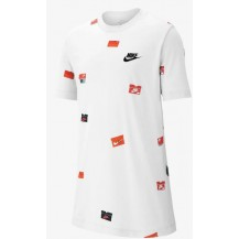 NIKE CAMISETA JR SHOEBOX AOP - BQ2713-100